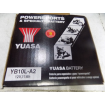 Bateria Yuasa Virago 250 Yb10la2 Gs 500 Kallu Motos