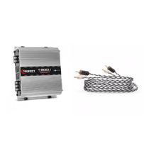 Modulo Taramps T800.1 Compact 1 Canal 800w Rms T800 + Rca 5m