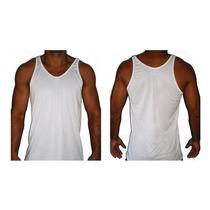Camiseta Regata Malhação / Musculação Cavada Dry Fit 20%off