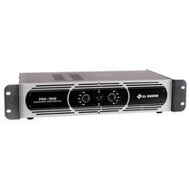 Amplificador De Potência Profissional Pro1200 - 300 Wrms