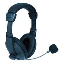 Fone De Ouvido Headphone Profissional C/ Microfone Gamer Pc