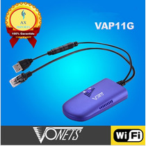Vonets Wireless Wifi Vap11g P/ Decodificadores Xbox Ps3 Tvs