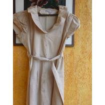 Vestido Casual Bege - 46