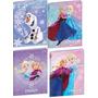 Kit C/ 5 Cadernos Brochurão Frozen 96fls 2015 Sortido