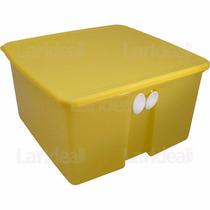 Tupperware Fresh Smart Quadrado 4,2 Litros - Amarelo