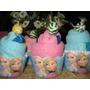 150 Lembrança Aniversarios Toalhinha Cupcake Personalizada