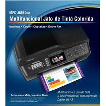 Multifuncional A3 Brother J6510 Dw (maxcombo + 400ml)tinta