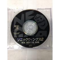 Cd De Neo Geo Original Sonic Wings 2 ( Aviao/nave )