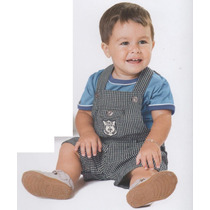 Trick Nick- Conjunto Infantil Camiseta Com Jardineira 108358