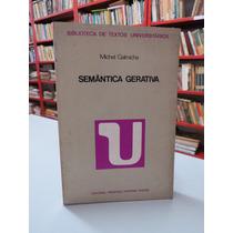 Livro Semântica Gerativa Michel Galmiche Center Livros