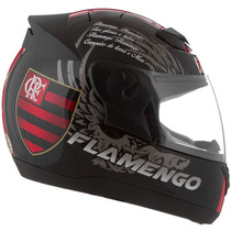 Capacete Flamengo Oficial Pro Tork