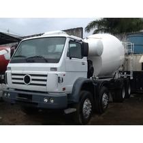 Caminhão Volkswagem Betoneira De Concreto Revisado 4* Eixos