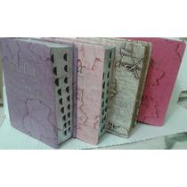 Bíblia Sagrada C/harpa E Indice Letra Grande Bege,rosa,preta