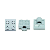 Lego Technic 6 Peças Brick Com Furo Pino 2x2 Pn 10247