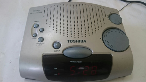 02ebbe0bfaa Rádio Relógio Toshiba Rr1267 R 40 mboxL - Precio D Brasil