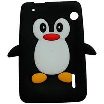 Capa Silicone Pinguim Para Tablet Cce Motion Tab Tr71 Tr72