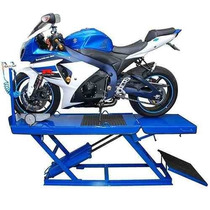 Elevador Pneumático Para Motos - Rampa Para Motos 2 Pistões