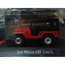 Jeep Willys Cj5 1963 Miniatura 1:43 Inesqueciveis Nacionais