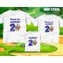 Lembrança De Aniversario Backyardigans Kit Camisetas C/ 3