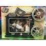 Porta-retrato Metal Madeira Retro Rústico Projetor Filme