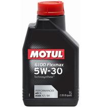 Óleo Lubrificante De Motor Motul 5w30 6100 Flexmax Sintético