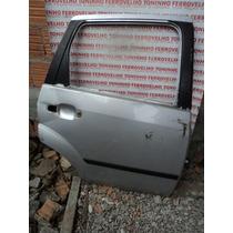 Porta Traseira L.d Ford Fiesta 08 (p/recupe.) S/ Acessórios