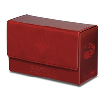 Double Mana Flip Red Deck Box Ultra Pro