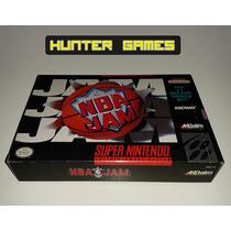 Nba Jam *** Original Americano*** Completo!! Super Nintendo