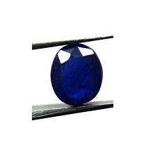 Elegante Safira Azul Oval 3,30 Cts. Pedra Natural.