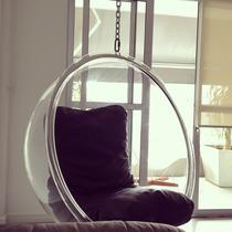 Poltrona De Design Bubble, Pouco Usada, Maravilhosa