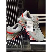 Novo Adidas Springblade 2 Razor Cinza/vermelho 100% Original