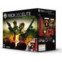Xbox 360 Elite 120gb Resident Evil 5 Limited Edition Raro+++