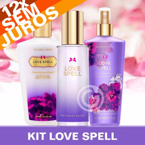 Kit Love Spell Perfume + Creme + Splash Victoria´s Secret