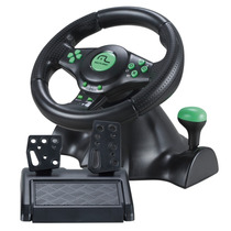 Volante C/ Pedal Multilaser Racer - Pc, Ps2, Ps3 E Xbox360