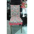 Capa Luxo Para Encosto De Cadeira . Kit Com 6
