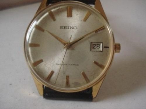 2030556b3e9 Relógio Antigo Seiko Diashock Anos 60 Corda