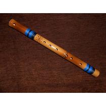 Flauta Transversal Pífano / Pífaro De Bambu - Sopro Nativo