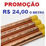 Tubo Cobre Eluma15mm Diamet, Barra De 2,5 Mts Promoção