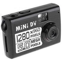 Micro Camera Espia Filmadora Detetive Hd Dv 5.0 Mp Microfone