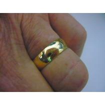 4g Par Alianças Ouro Puro 18k Casamento Noivado