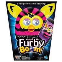 Furby Boom Figure (straight Stripes)original Importado U S A