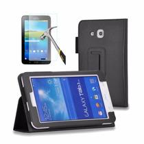 Capa Tablet Samsung Galaxy Tab3 7 T110 T116 + Película Vidro