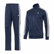 Kit 5 Pcs Conjunto Abrigo Agasalho Adidas Adulto Inverno