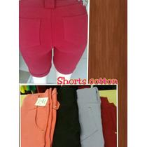Shorts Cotoon Bolso
