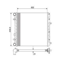 Radiador Motor-alternativo-fox/spacefox/crossfox 1.0/1.6