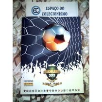 Álbum Figurinhas Campeonato Brasileiro 2013 - Completo Colar