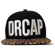 Bonés Strapback Onça Drcap Leopard Fivela Metálica Oncinha