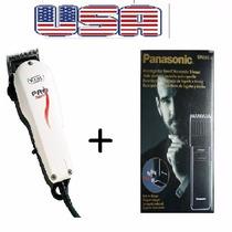 Maquina De Cortar Cabelo Wahl + Maquina Acabamento Panasonic