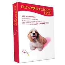 Anti Pulgas Revolution Para Cães De 10,1 A 20 Kgs