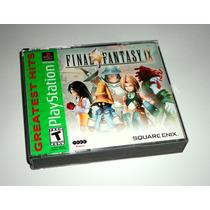 Final Fantasy Ix 9 Ff Original Completo - Ps1, Ps2 E Ps3
